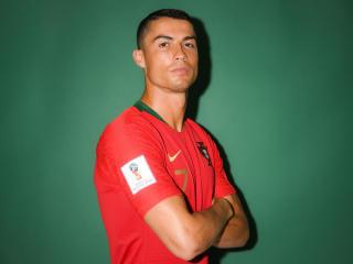 Cristiano Ronaldo FIFA 2018 Portrait wallpaper