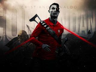 Cristiano Ronaldo x Terminator wallpaper