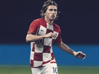 HD Wallpaper | Background Image Croatia Luka Modric FIFA 2018