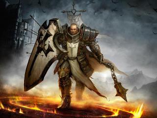 Crusader Diablo 3 wallpaper