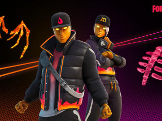 Cryptic and Mystify Outfits Fortnite wallpaper