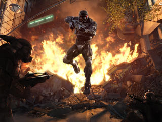 Crysis 2020 Game wallpaper