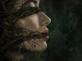 Crystal Reed Swamp Thing wallpaper