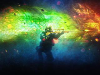 CS GO Dragon Lore wallpaper