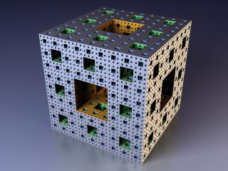 HD Wallpaper | Background Image cube, fractal, mandelbrot
