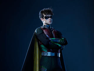 Curran Walters as Robin wallpaper