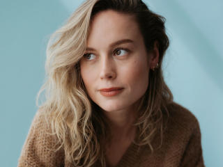 Cute Brie Larson Actress wallpaper