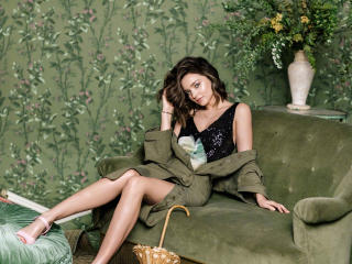 Cute Miranda Kerr For Harper Bazaar China wallpaper