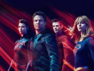 CW DC Superhero 2019 wallpaper