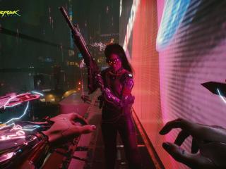 Cyberpunk 2077 4k Banner wallpaper