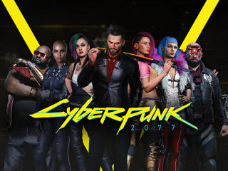 Cyberpunk 2077 4k Characters wallpaper