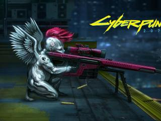 Cyberpunk 2077 Angel wallpaper
