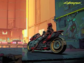 Cyberpunk 2077 Art 2021 wallpaper