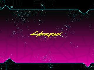 Cyberpunk 2077 Background Logo wallpaper