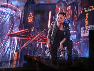 Cyberpunk 2077 Concept Art wallpaper