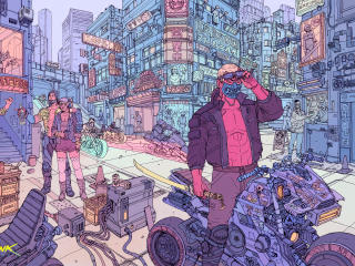 Cyberpunk 2077 Cool Concept Art wallpaper