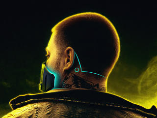 Cyberpunk 2077 FanArt wallpaper