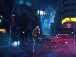 Cyberpunk 2077 Future Cty wallpaper