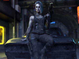 Cyberpunk 2077 Game Photography Cool wallpaper