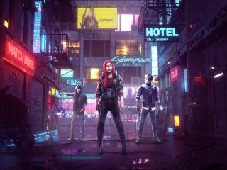 Cyberpunk 2077 Game Poster wallpaper