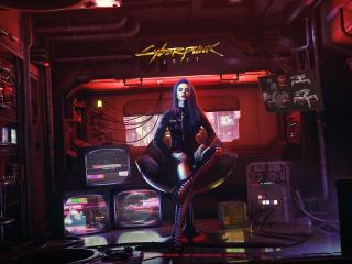 Cyberpunk 2077 Girl Art wallpaper