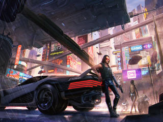 Cyberpunk 2077 Keanu Reeves wallpaper