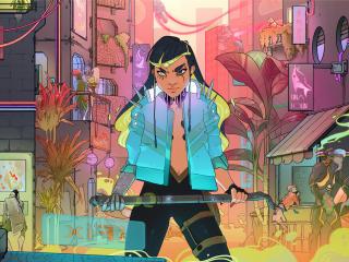 Cyberpunk 2077 My Night City wallpaper