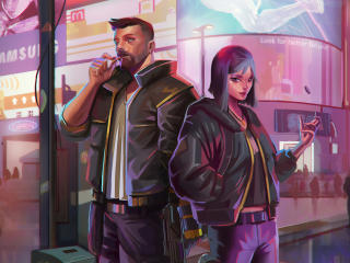 Cyberpunk 2077 V Art wallpaper