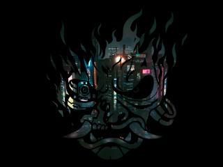 Cyberpunk 4K Samurai wallpaper