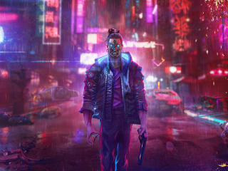Cyberpunk FanArt 2021 wallpaper