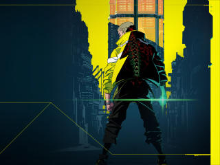 Cyberpunk Netflix 2022 wallpaper