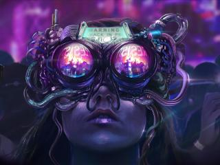 Cyberpunk Resist wallpaper