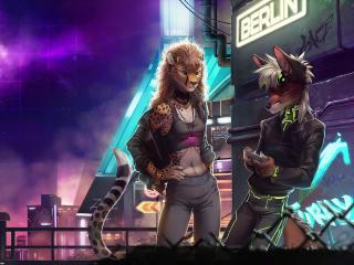 Cyberpunk World Art wallpaper