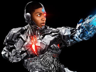 Cyborg In Justice League 2017 wallpaper