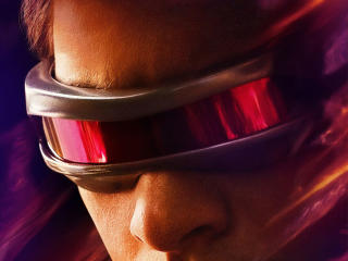 Cyclops X-Men Dark Phoenix Poster wallpaper