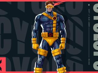 Cyclops X-Men x Valorant Digital Art wallpaper