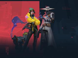 Cypher and Killjoy Valorant wallpaper
