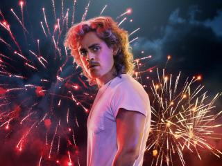 Dacre Montgomery Stranger Things 3 Poster wallpaper