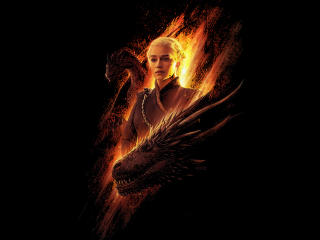 Daenerys and Dragons wallpaper
