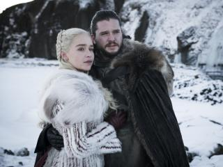 Daenerys Targaryen and Jon Snow wallpaper