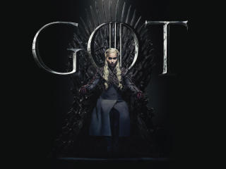 Daenerys Targaryen Game Of Thrones Season 8 Poster wallpaper