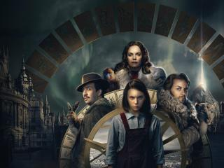 Dafne Keen His Dark Materials wallpaper