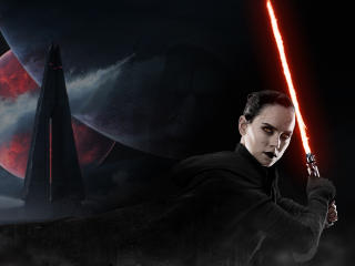 Daisy Ridley as Sith Rey wallpaper