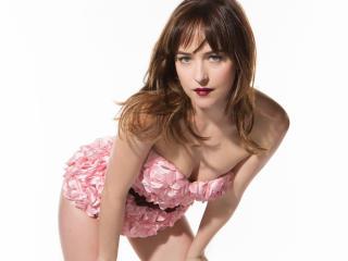 Dakota Johnson Hot Fifty Shades Actress wallpaper