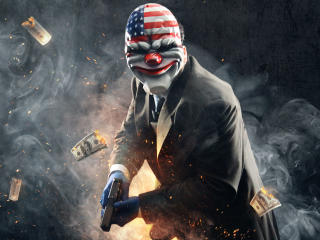 Dallas From Payday 2 wallpaper