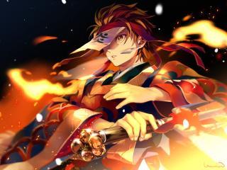 Dance of the Fire God [Hinokami Kagura] wallpaper