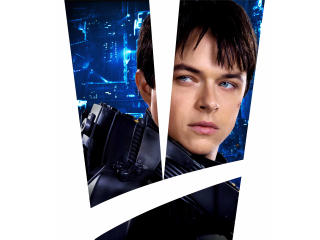 Dane Dehaan As Valerian In Valerian And The City Of A Thousand Planets wallpaper