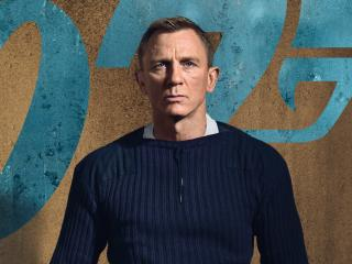 Daniel Craig No Time to Die wallpaper