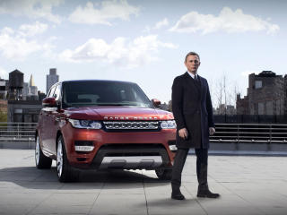 Daniel Craig Range Rover wallpapers wallpaper