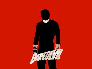 Daredevil Minimalism Poster wallpaper